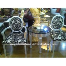 Armrest cadeira de madeira e conjuntos de mesa XYD132