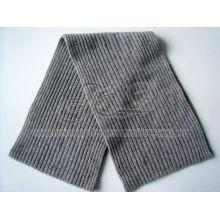 Зима 2 * 2 Ребра Вязание Кашемир Hat и шарф