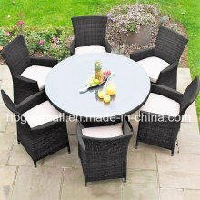 6 Persons Outdoor/Rattan/ Garden/ Dining Table Setting