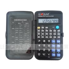 56 Función Calculadora científica de 10 dígitos con cubierta frontal (LC709A)