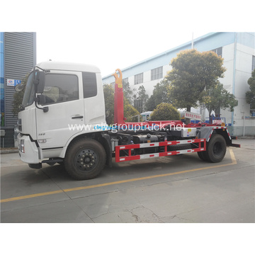 High quality Dongfeng 4x2 hook arm garbage truck