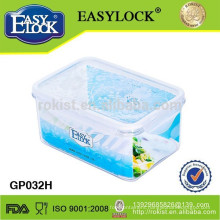 oblong microwave food container 600ml