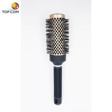 Nano Thermal Ceramic Ionic Tech Round Barrel Anti-Static Hair Brush with Boar Bristles