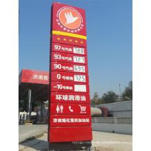 Tankstellenpreis LED Pylon Signage