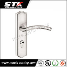 Zinc Alloy Door Lock Handle with Plating (STK-ZDL0014)