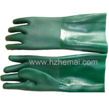 Guirlande de gant de PVC à gousset à double gant en PVC