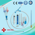Double Lumen hemodialysis catheter kits