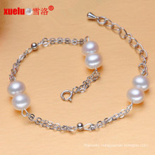 Fashion Charms Natural Cultured Pearl Bracelet Chain