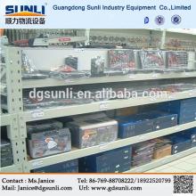 Guangdong proveedor medio estante de placa de acero para buena exhibición