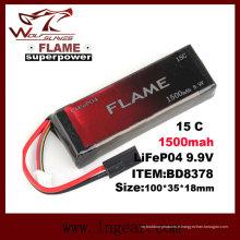 Flamme 9.9V 1000 mAh 15C LiFePO4 LFP batterie pour case Peq-15