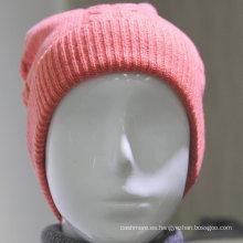 2016 nuevo diseño del patrón de cachemira orejeras del oído del patrón que hace punto el sombrero