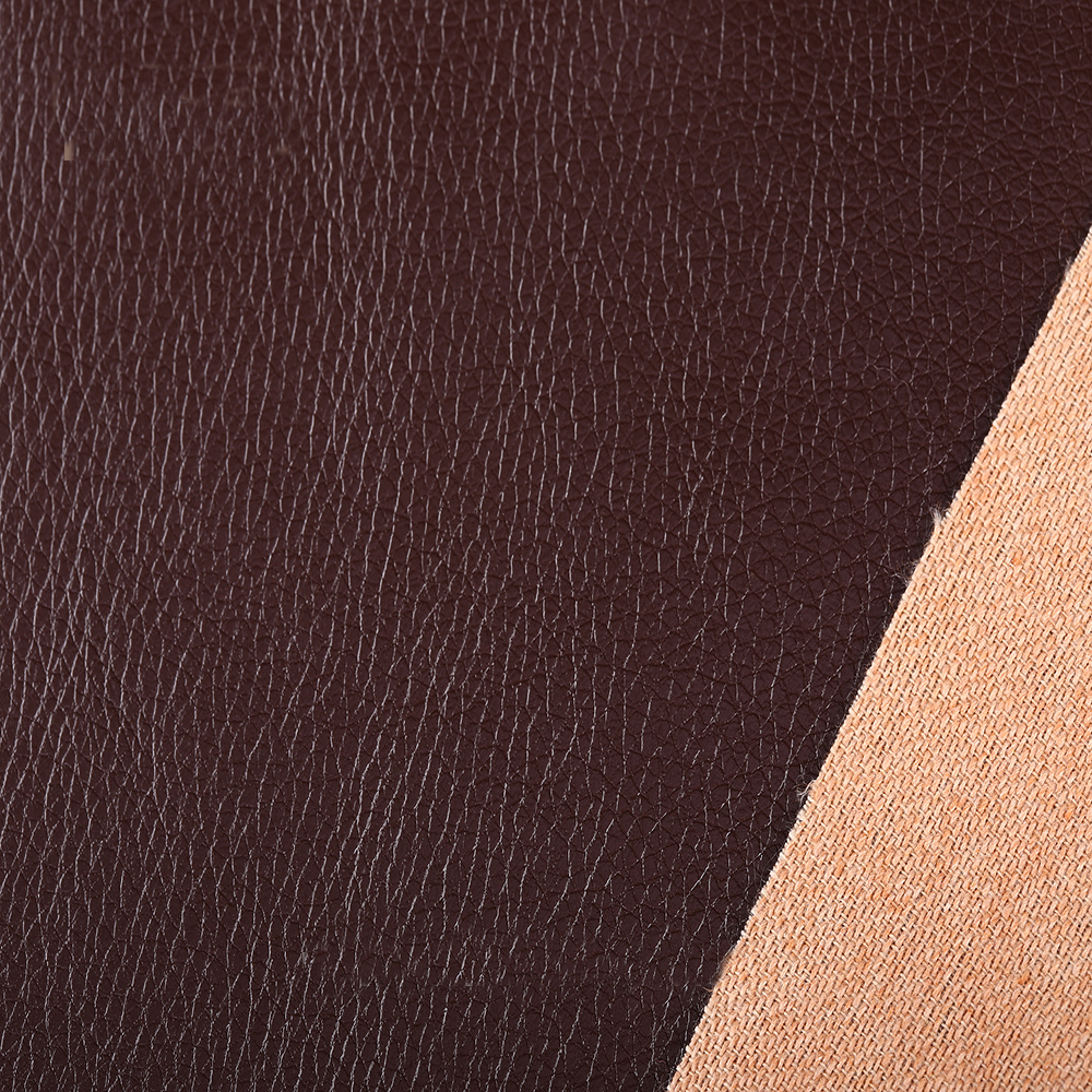 High quality solid color synthetic leather