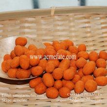 a healthy snack peanut coated hayo
