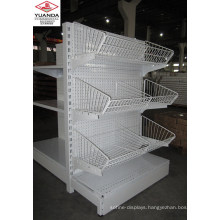 Gondola Shelves Metal Steel Supermarket Display Shelf