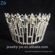 Star Shaped Round Crown Real Diamond Crowns And Tiaras Full Round Star Tiara