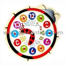 Wooden Puzzle Clock (81358)