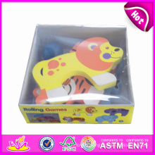 2014 New Kids Wooden Animal in Box, Popualr Cute Children Animal in Box, Lovely Baby Wooden Animal in Box Puzzle Games W13e031