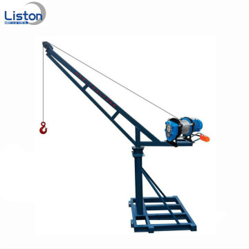 Mesin Lifting Luar Ruangan Portable Mini Crane