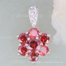 Mais recente design de moda indiano cubic zirconia jóias conjunto de colar de ródio jóias é sua boa escolha