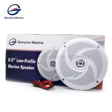Genuino marino impermeable radio antena estéreo barco altavoces barra de sonido 5 pulgadas cromo atv 6.5 altavoz marino