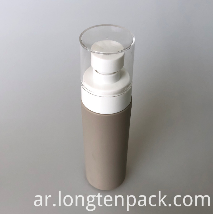 LTP8021 HDPE bottle with lotion pump