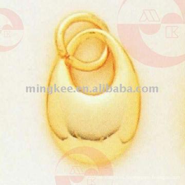 Tirador / deslizador de la cremallera del anillo de oreja (G10-224AS)