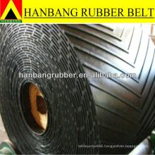 anti high temperature rubber chevron conveyor belts