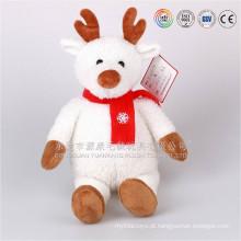 Brinquedos quentes feitos sob encomenda auditados ICTI profissionais para o Natal 2016, rena do luxuoso do Natal em Dongguan, Guangdong, China