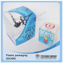 Pet / PVC / PP pequeña caja clara de regalos