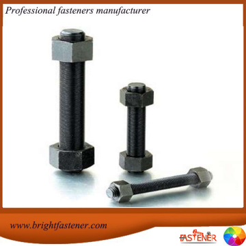 Stud Bolts with  Heavy Hex Nuts