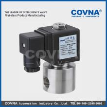 SS304 comprimido de aire de válvula eléctrica de alta presión de funcionamiento del pistón de la construcción del pistón de inyección de plástico de la máquina de la válvula de medios de agua