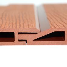 Home Garden Landscape Waterproof Siding Board DIY Exterior Wall Facades WPC Composite Wooden Wall Panel Cladding