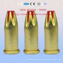 Prego principal do tiro da bala do edifício, pistola do prego, comprimido do tiro do prego