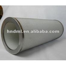 Luftfilterelement für gefiltertes Gas: 224 mm. Gesamthöhe: 600mm