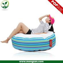 stripe printing round beanbag sofa bean bag chair