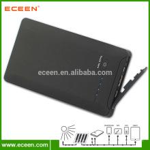 Portable 10000mah waterproof 2 USB power bank for mobile phone
