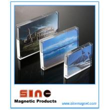 Cadre photo acrylique / décoration de bureau acrylique
