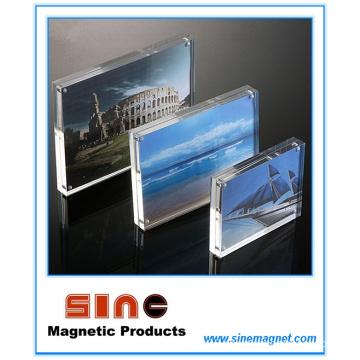 Acrylic Magnetic Photo Frame/Desktop Decoration