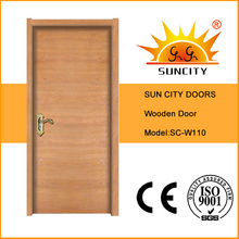 Flush Design Veneer Wood Painting Door, Interior Wood Door Sc-W110
