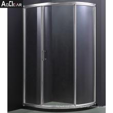 Aokeliya cheap frameless shower doors corner shower unit double shower doors