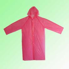 Poncho de pluie à usage unique PE / Manteau de pluie d'urgence jetable