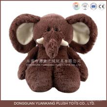 ISO9001 auditados fábrica elefante recheado de brinquedo de pelúcia atacado elefante boneca