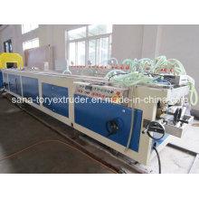 Высокое качество ПВХ пластиковый профиль Экструзионная линия