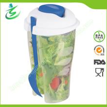 Coupe Shaker de salade de qualité alimentaire pour salade et fruits