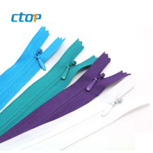 Manufacturer wholesale high quality 3# color long chain nylon zipper rolls