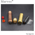 Copper material e cigarette vs resin drip tip