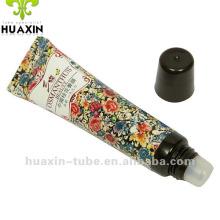 Cosmetics lipsticks,Round lip balm tube with inner plunger