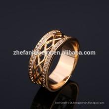 jewleries do anel de dedo da forma para mulheres do presente dos convidados do casamento