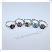 Alloy Finger Ring, Factory Hot Sale Latest Finger Ring Designs Images Catholic Finger Ring (IO-ce-88)