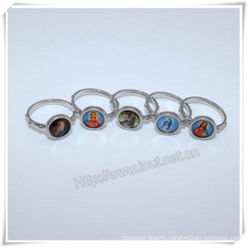 Alloy Finger Ring, Factory Hot Sale Latest Finger Ring Designs Images Catholic Finger Ring (IO-ce-88)
